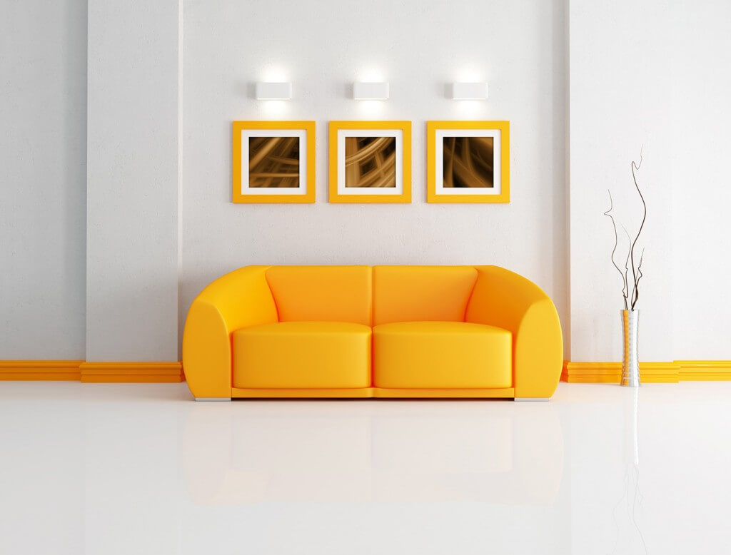 Energizing Living Room Colors