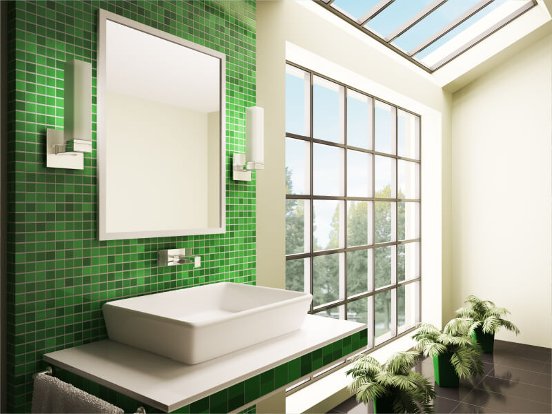 Mosaic Patterns. Bathroom Tile Designs