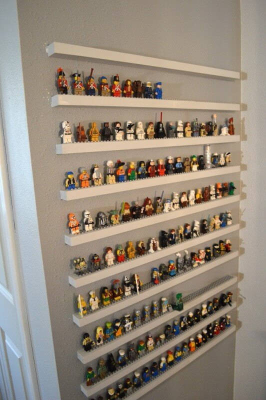 our favorite lego display ideas