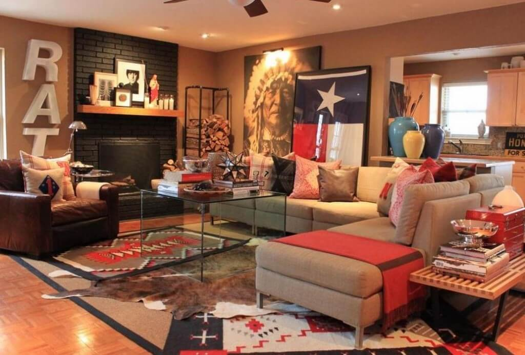 Yu0027all, We Canu0027t Get Enough Of This Texas Living Room,