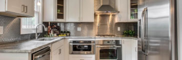 Versatility with Stainless Steel Backsplashes