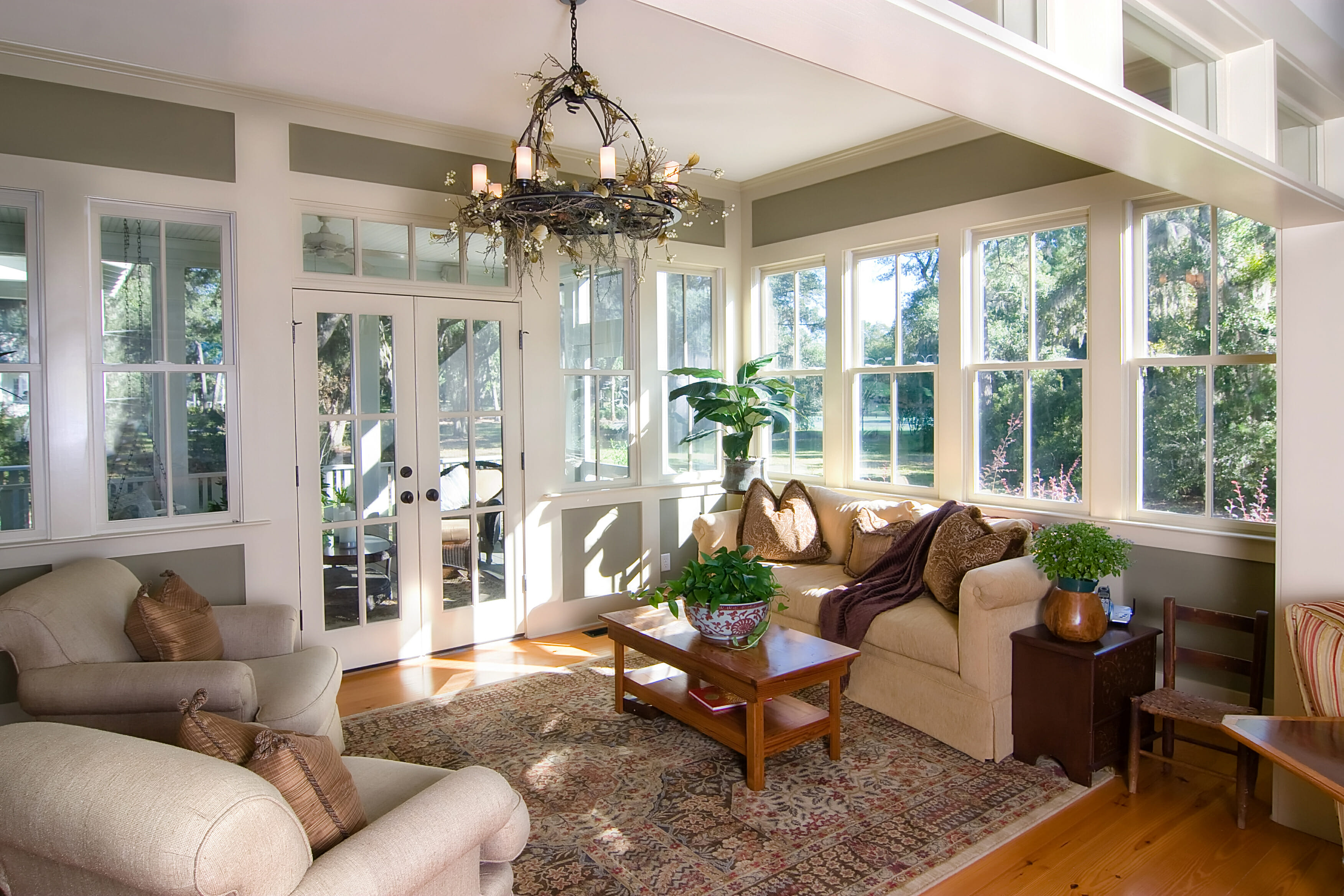 Furnished Sun roomSunroom Decorating Ideas   Modernize. Sunroom Decor Ideas. Home Design Ideas