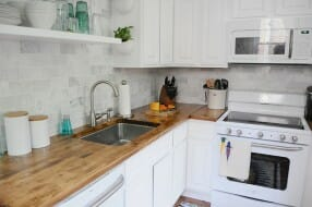 Gorgeous kitchen remodel by Emily May. Creative Commons Attribution 2.0.