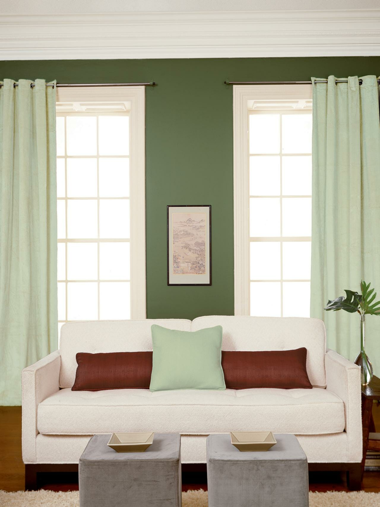From start to finish selecting the right paint sheen modernize for Satin or eggshell for living room