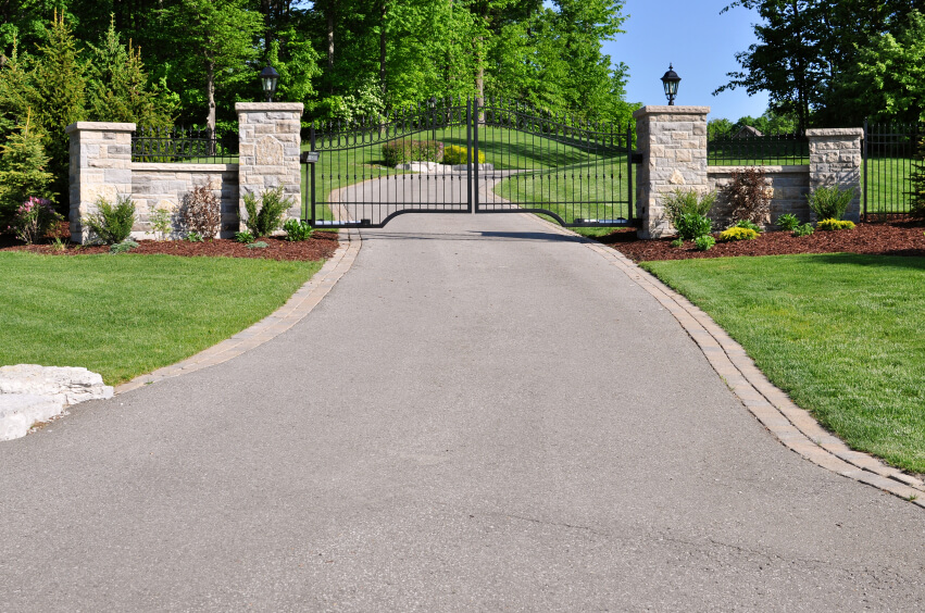 Driveway Lighting - Traditional - Outdoor Lighting ... |Driveway Entry Lights