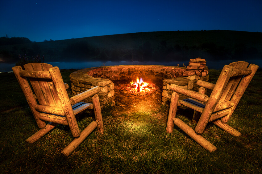 outdoor fire pits we can 39 t get enough of modernize. Black Bedroom Furniture Sets. Home Design Ideas