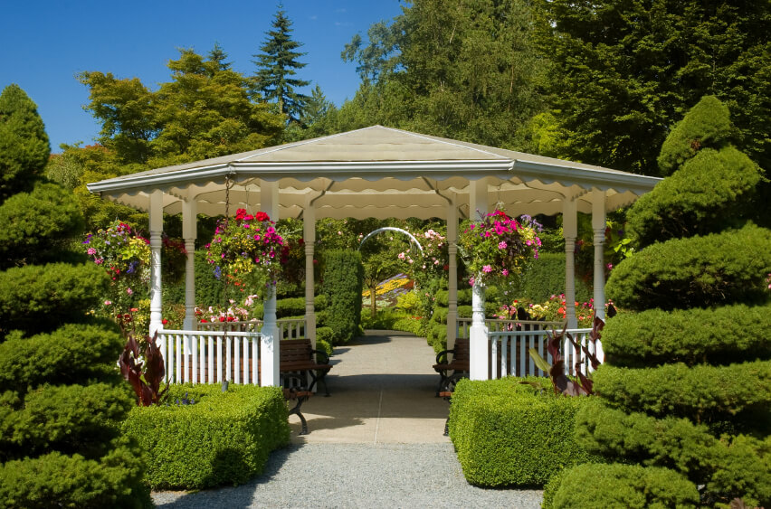 Pergola gazebo ideas pictures design ideas for Decor paysagiste jardin