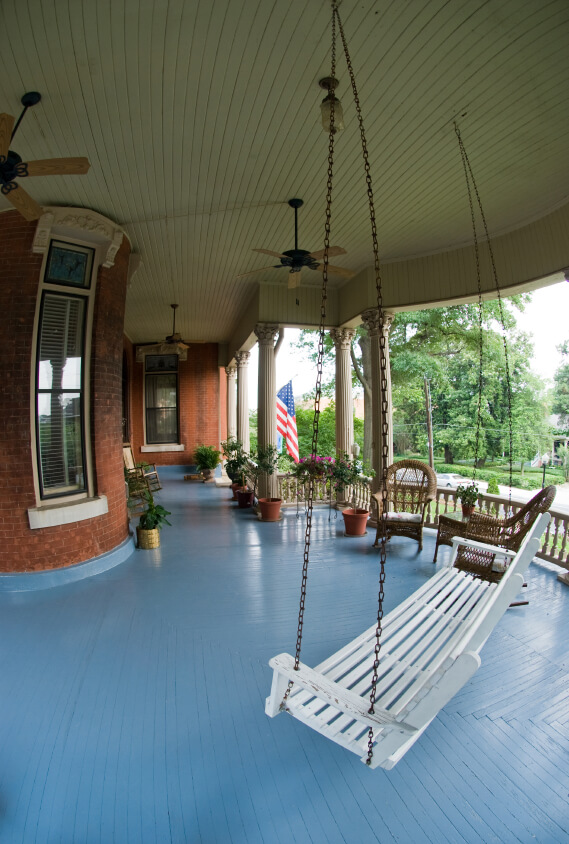 Coolest Country Porches Modernize