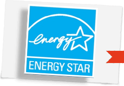 Energy star windows blue logo