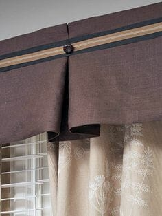 pleasted window valances