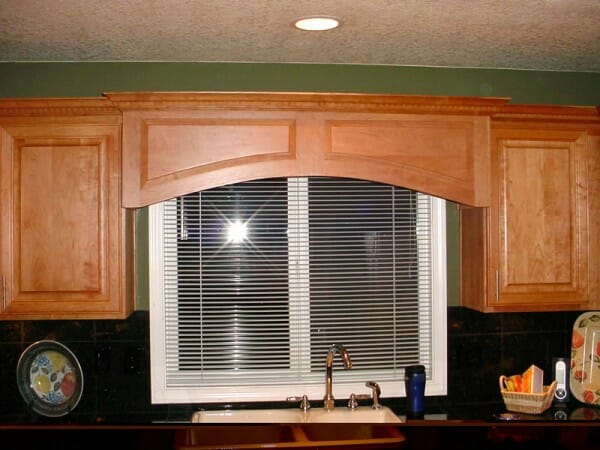Perfect For The Kitchen Or Bathroom Wooden Valances Can Extend Right