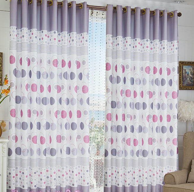geometric curtains