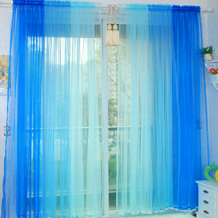 gradient curtains