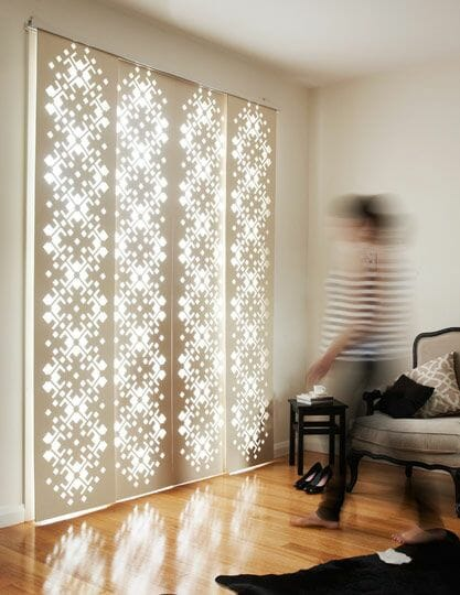 6 Simple Window Covering Ideas For Sliding Glass Doors