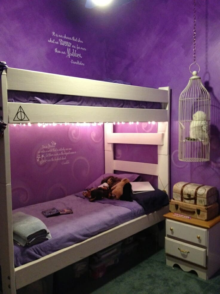 15 Harry Potter Themed Rooms Just Because Modernize