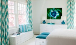 Make a Splash With Teal Curtains