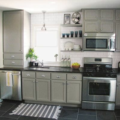 Slate tile flooring pros and cons modernize for Budget kitchens south africa