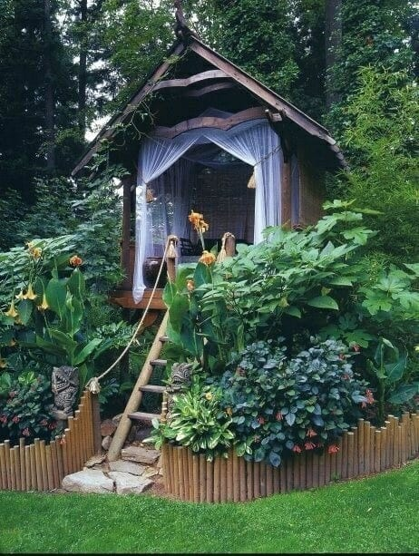 meditation treehouse