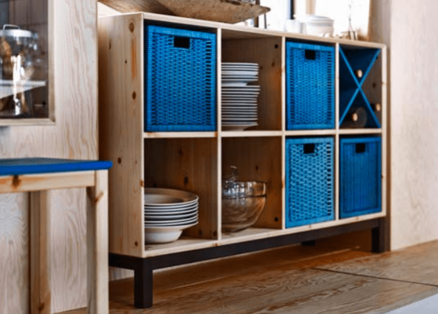 Ikea's Nornas sideboard provides an alternative to the much-loved Expedit/Kallax.