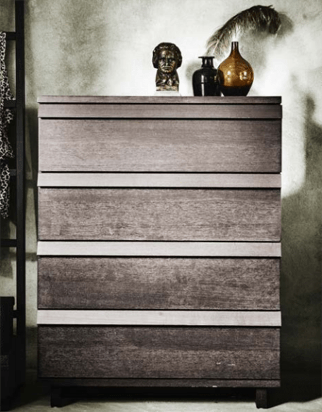 The Oppland 4-drawer chest