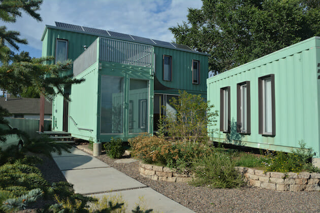 An incredible home made from six containers