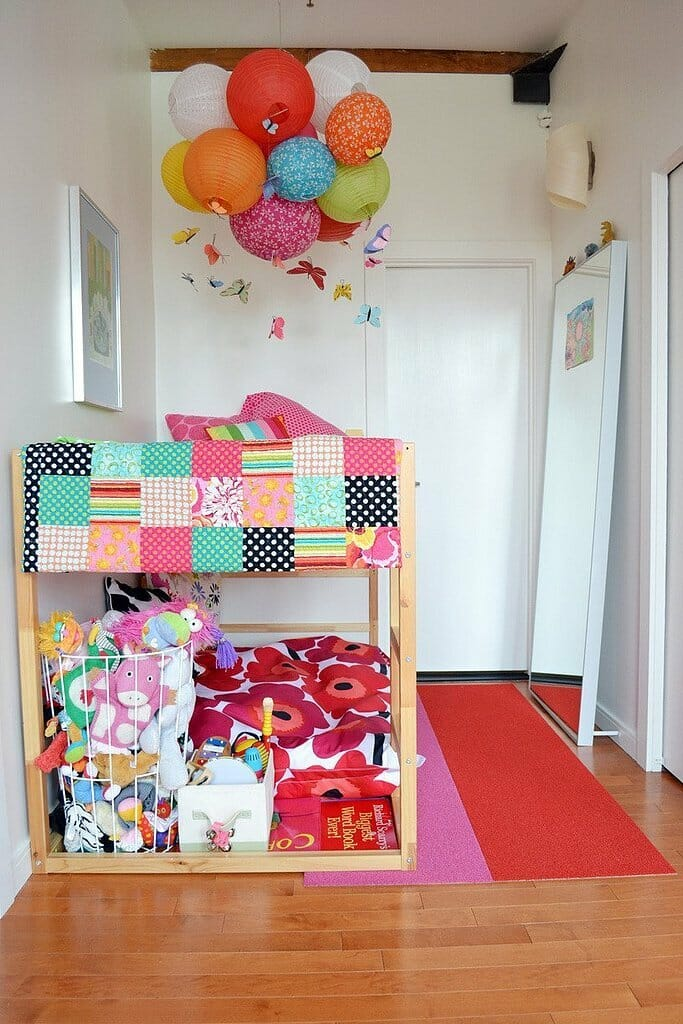 ikea hack bunk bed
