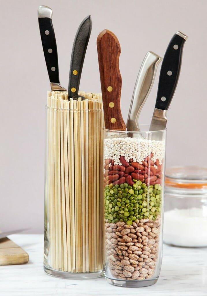 unique knife storage