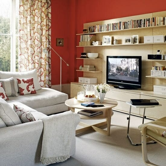 Maximizing Space in a Small Living Room - Modernize