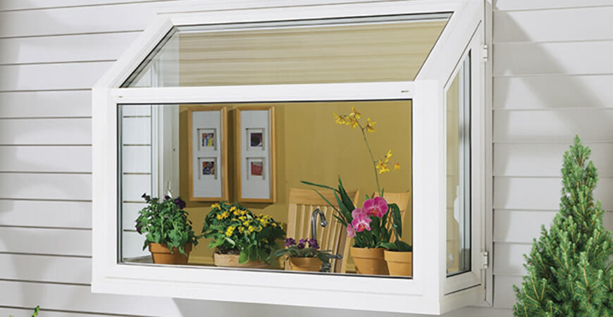 garden window installation