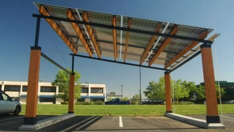 If photovoltaic shingles are a little outside of your budget thereu0027s an even simpler solution solar canopies. These small flat-roofed structures that ... & Solar Panels That Blend in With Your Home - Modernize