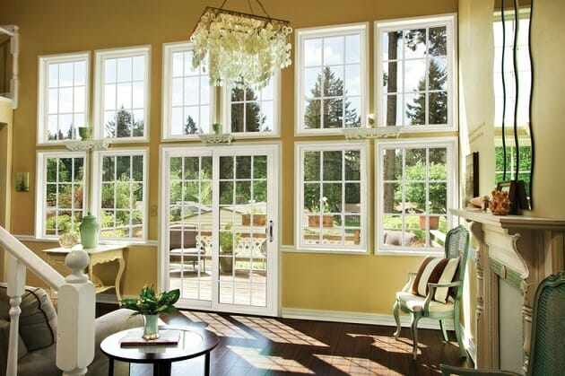 Standard window sizes for your house dimensions size for Double hung french patio doors