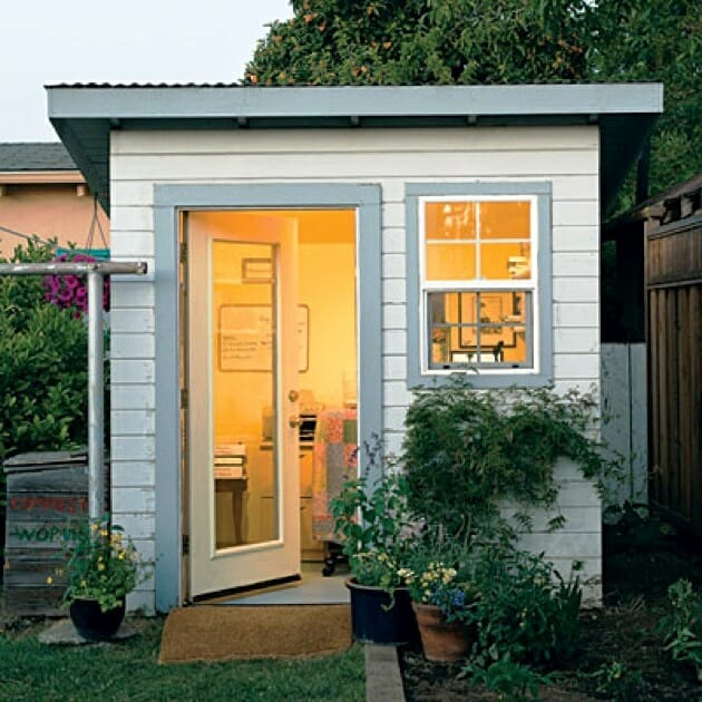 Outdoor Home: Why Not Build A Solar-Powered Shed?