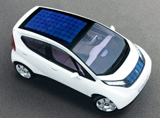 Solar vehicle