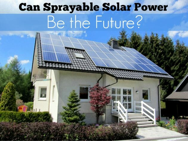 solar home_sprayable powe