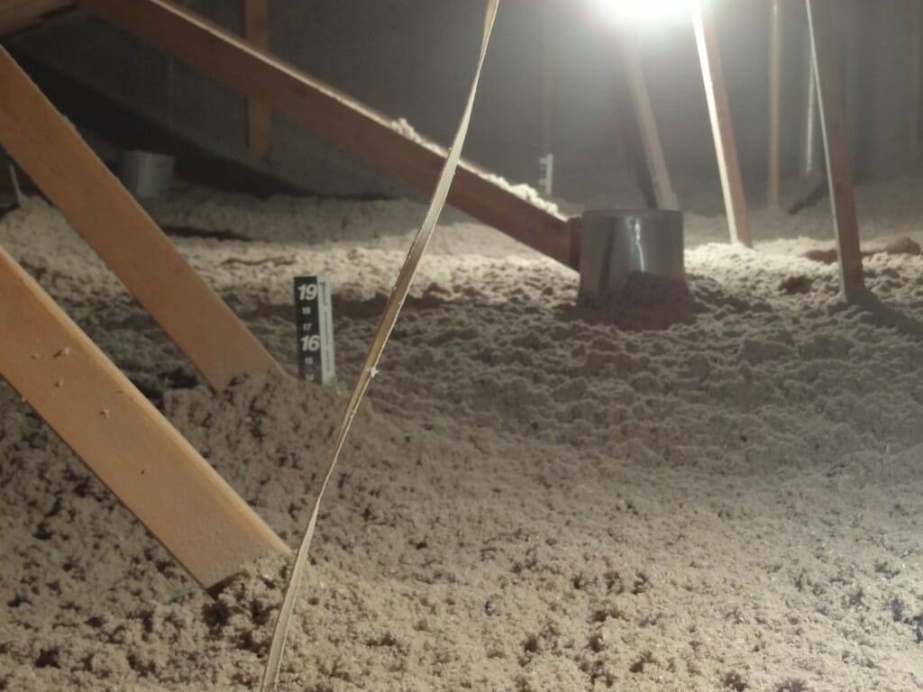 blown in attic insulation