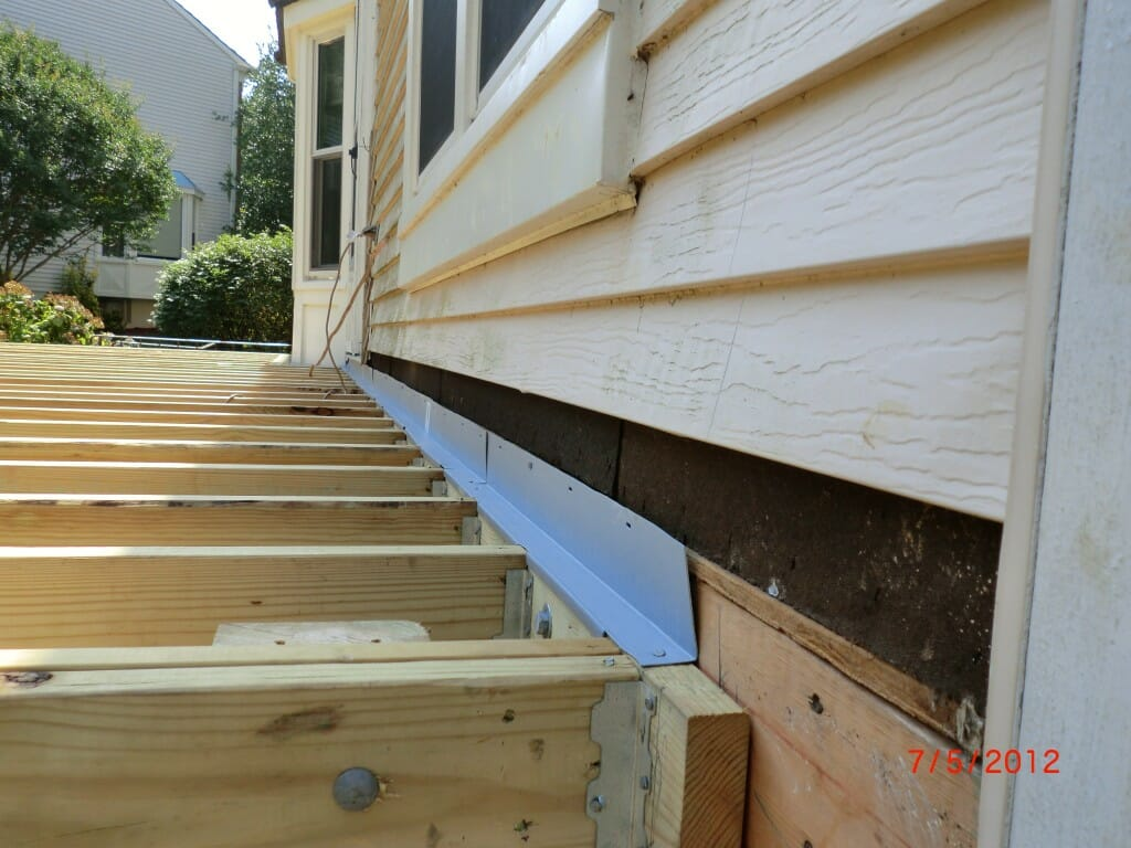 Understanding roof flashing modernize for Steps to building a new home