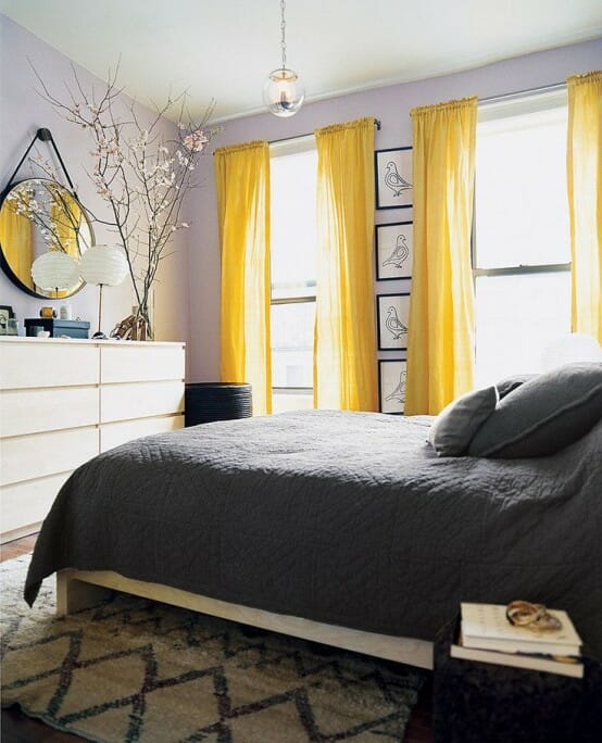 Yellow Green Bedroom Design Blinds For Bedroom Simple Bedroom Design Ideas For Girls Bedroom Colour With Black Furniture: 4 Small Decorating Changes That Make A Big Impact