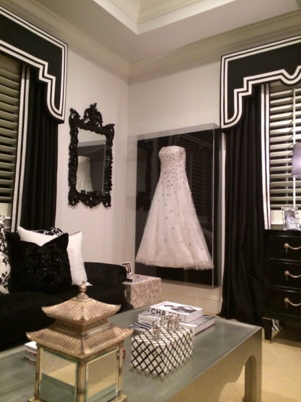 Give your bedroom closet a chic boutique vibe modernize for Frame your wedding dress