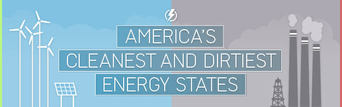 America's Cleanest and Dirtiest Energy States