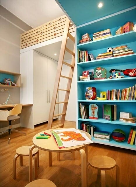 kid shelves