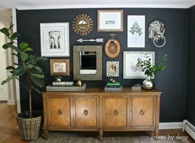 the non artist s guide to mixed media gallery walls modernize. Black Bedroom Furniture Sets. Home Design Ideas