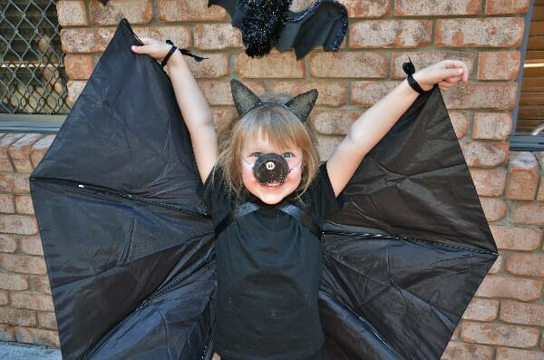 Halloween costume-bat