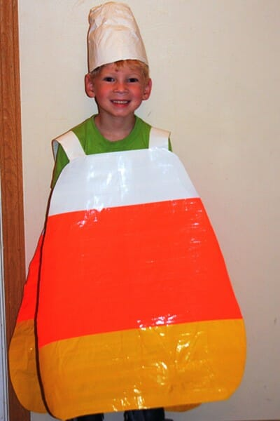 Halloween costume-candy corn