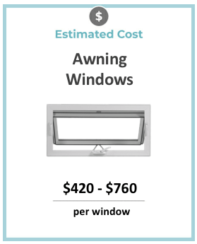 awning windows prices