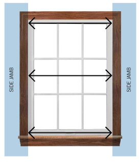 Measuring Replacement Windows