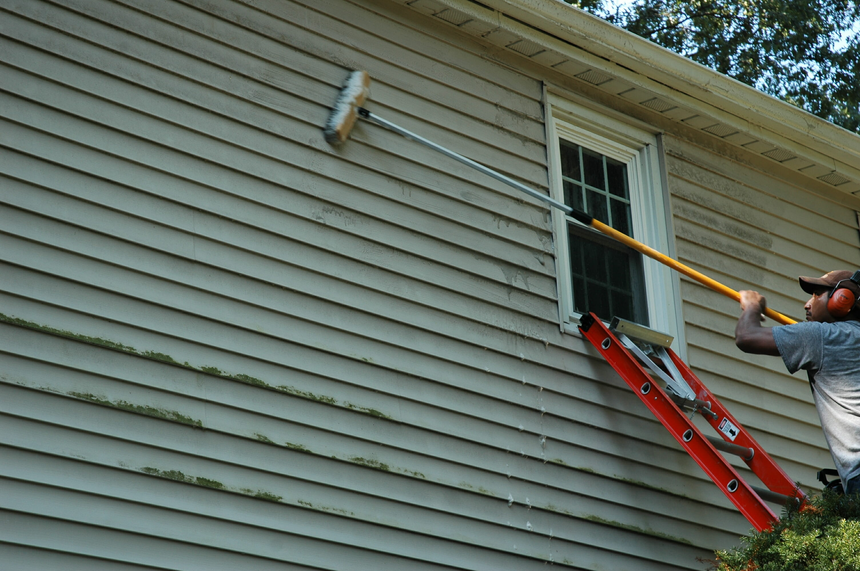 Steps to clean vinyl siding modernize for House siding parts