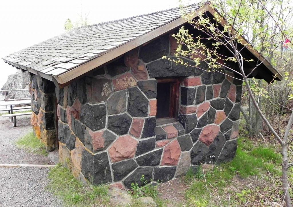 Small engineered stone building - Image Source