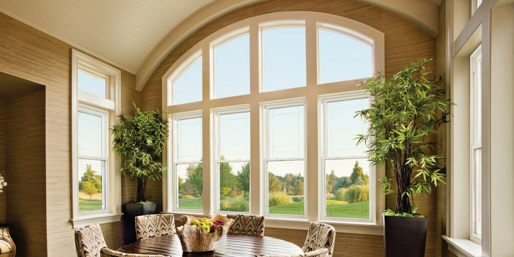 Large Alside windows