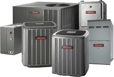 6 different types of Amana hvac units.
