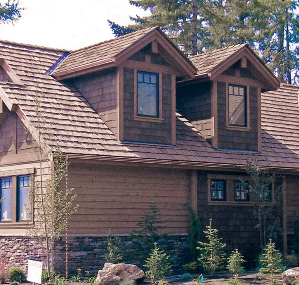 Cedar siding home - Image Source
